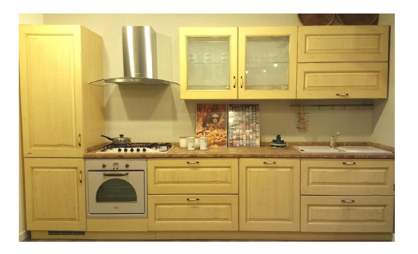 Cucina Belvedere Scavolini in Promozione, pagabile in comode rate ...
