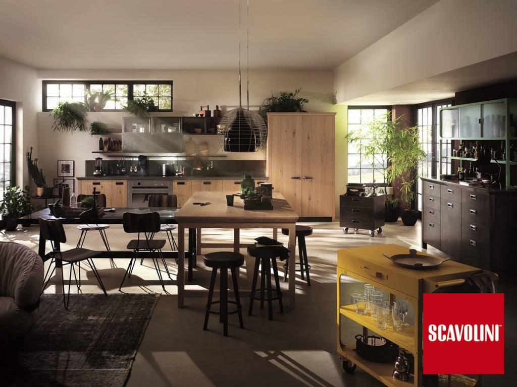 Cucina diesel social kitchen scavolini vendita di cucine a - Cucine industriali roma ...