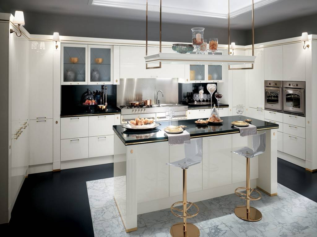 Cucina baccarat scavolini vendita di cucine a roma - Cucine scavolini classiche prezzi ...