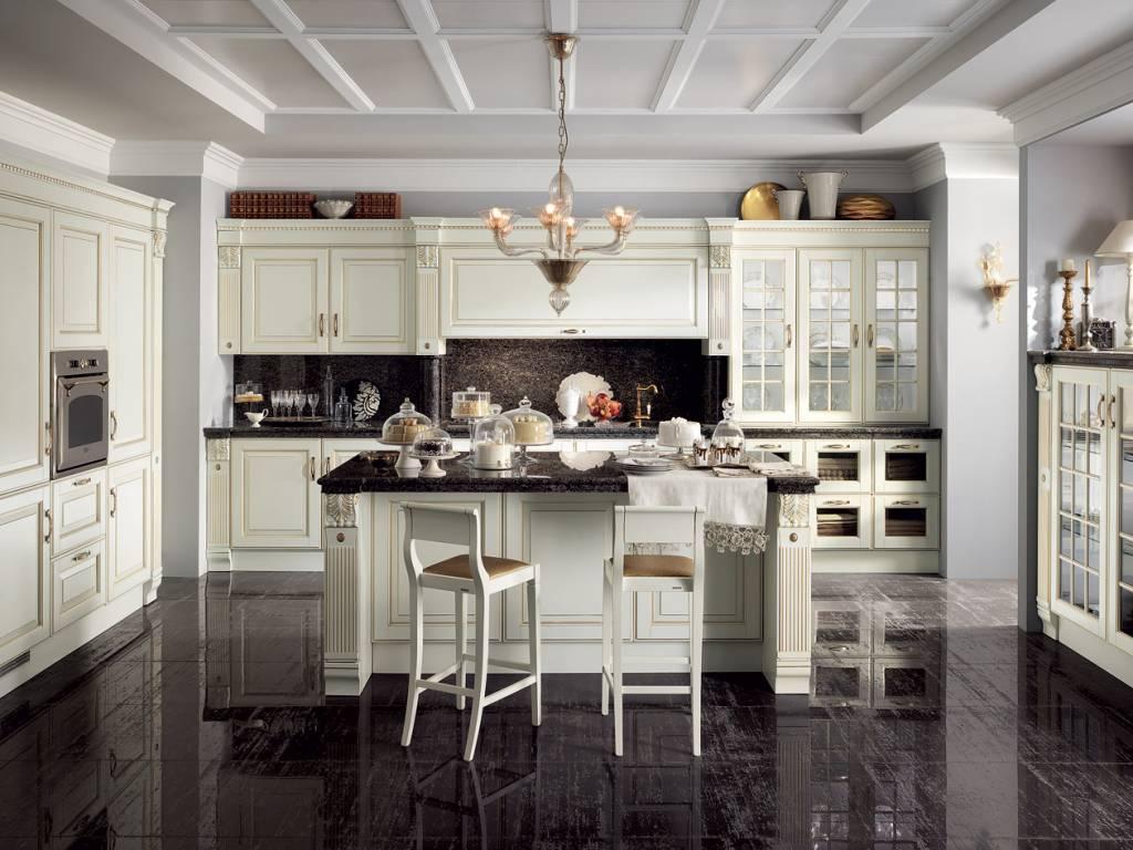 Cucina baltimora scavolini vendita di cucine a roma - Immagini di cucine classiche ...