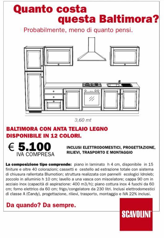 Cucina Baltimora Scavolini: prezzi, foto e materiali-Centro ...
