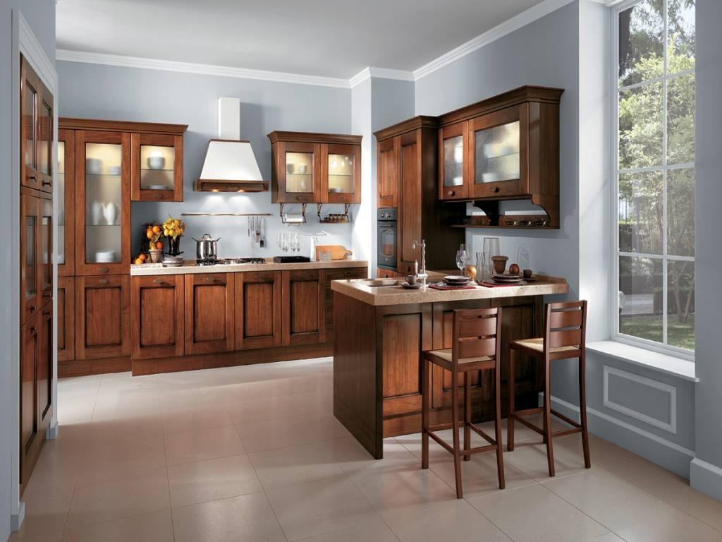 Rivestimento cucina rustica - Ante per cucine in muratura ...
