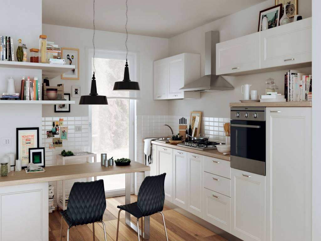 Emejing Cucine Con Mensole Photos - Design & Ideas 2017 - candp.us