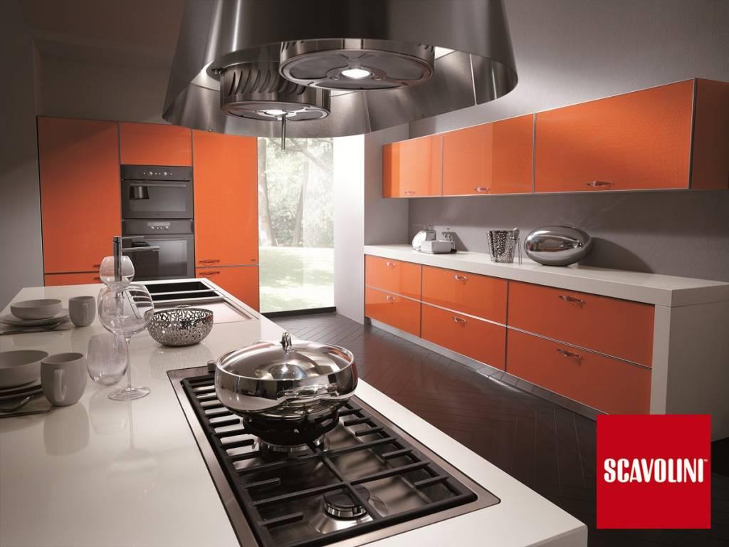 Cucina Moderna Con Anta A Telaio In Ciliegio Lineare Metri 3 45 Con  #A92922 1024 768 Cucine Classiche Con Forno A Colonna