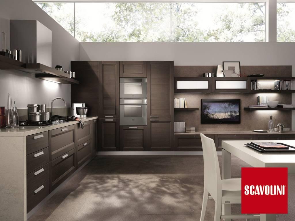 Cucina salone open space classico - Cucine open space ...