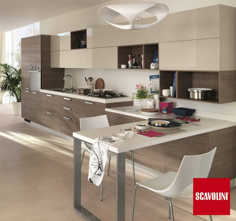 beautiful cucine moderne con isola scavolini gallery - ideas