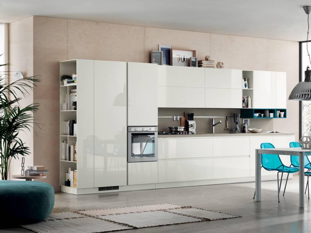 Cucina Foodshelf Scavolini: prezzi, foto e materiali-Centro ...