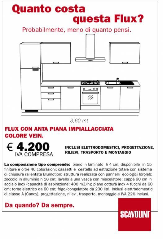Cucina Flux Scavolini vendita di Cucine a Roma