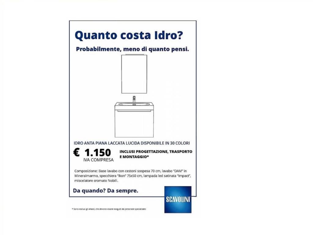 Bagno idro scavolini vendita di arredo bagno a roma for Arredo bagno roma sud