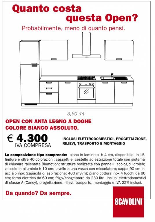 Cucina Open Scavolini vendita di Cucine a Roma