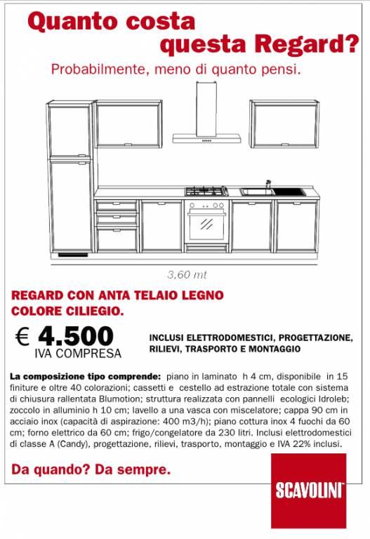 Cucina Regard Scavolini vendita di Cucine a Roma