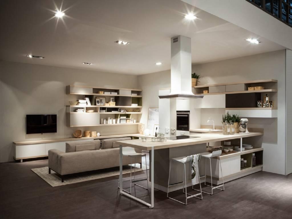 Cucina Foodshelf Scavolini Vendita Di Cucine A Roma #30485E 1024 768 Immagini Di Cucine Rustiche