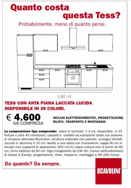Cucina Tess Scavolini vendita di Cucine a Roma