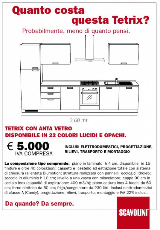 Cucina Tetrix Scavolini vendita di Cucine a Roma