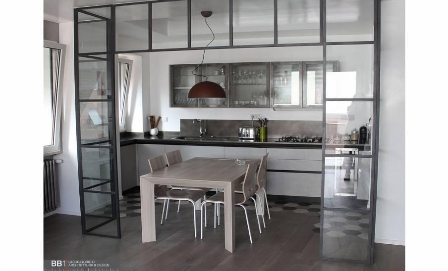 Realizzazione Cucina Scavolini Diesel/ Liberamente in Via Boito